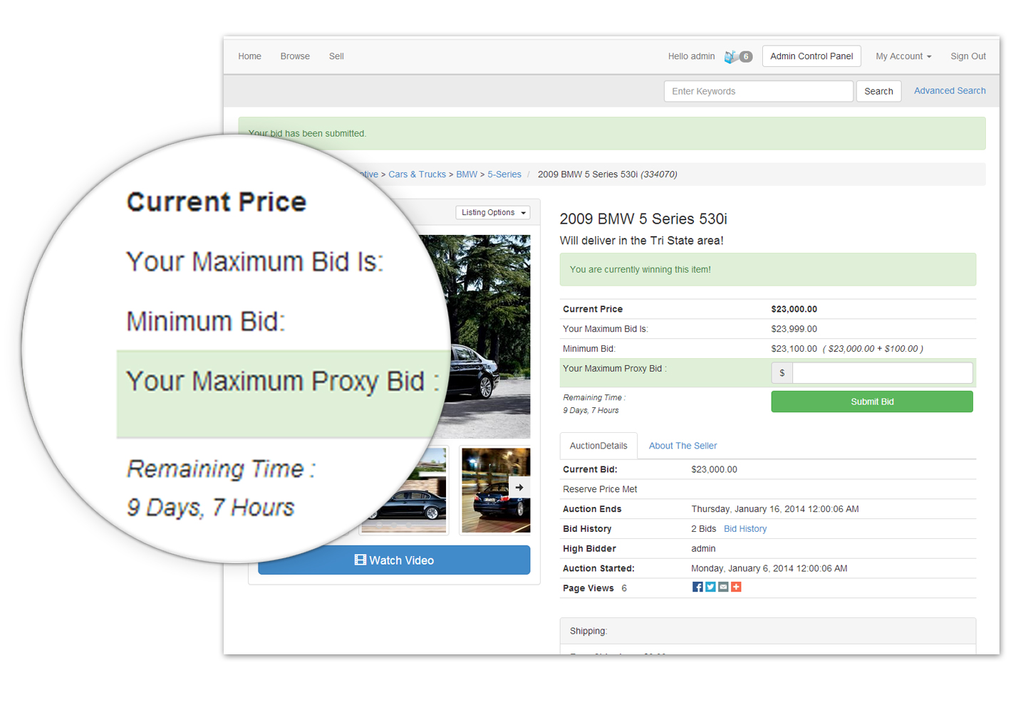 online auction software create your own online auction website